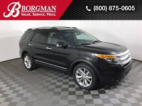 2013 Ford Explorer for sale at BORGMAN OF HOLLAND LLC in Holland MI