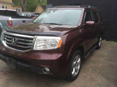2015 Honda Pilot for sale at MELILLO MOTORS INC in North Haven CT
