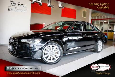 2016 Audi A6 for sale at Quality Auto Center in Springfield NJ