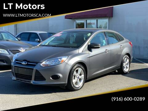2013 Ford Focus for sale at LT Motors in Rancho Cordova CA