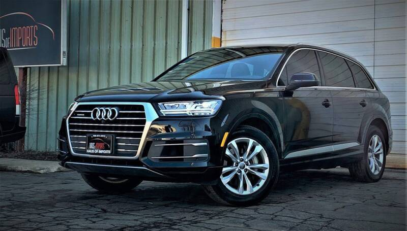 2017 Audi Q7 for sale at Haus of Imports in Lemont IL