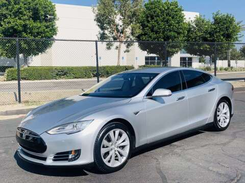 2015 Tesla Model S for sale at CARLIFORNIA AUTO WHOLESALE in San Bernardino CA