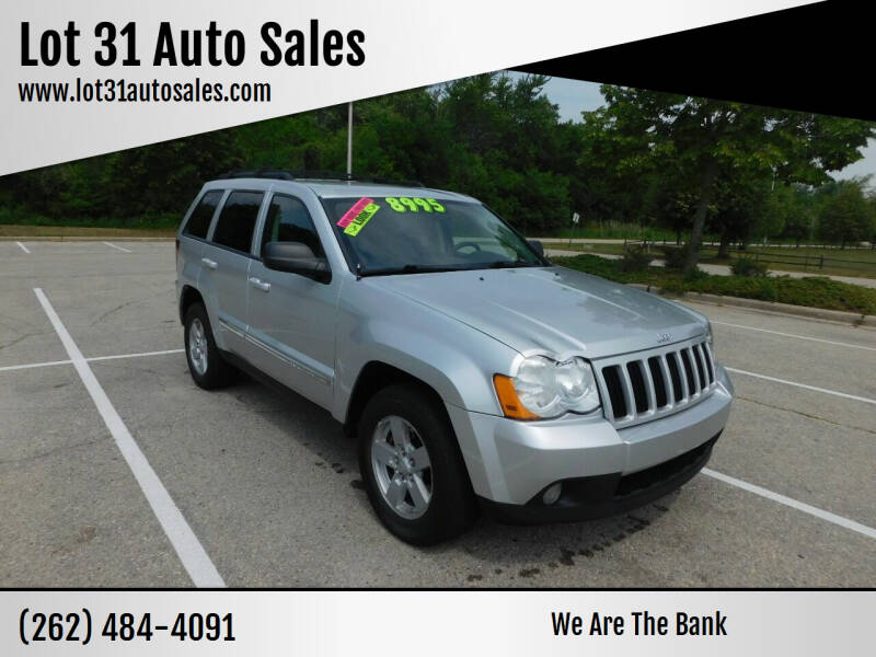 2010 Jeep Grand Cherokee for sale at Lot 31 Auto Sales in Kenosha WI