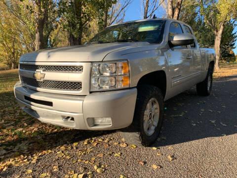 2011 Chevrolet Silverado 1500 for sale at BELOW BOOK AUTO SALES in Idaho Falls ID
