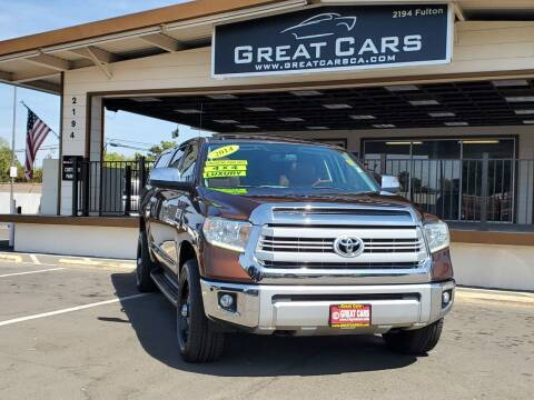 2014 Toyota Tundra for sale at Great Cars in Sacramento CA