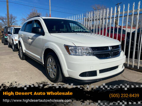 2018 Dodge Journey for sale at High Desert Auto Wholesale in Albuquerque NM