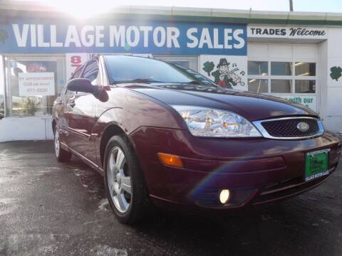 2007 Ford Focus for sale at Village Motor Sales in Buffalo NY