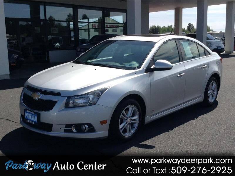 2014 Chevrolet Cruze for sale at PARKWAY AUTO CENTER AND RV in Deer Park WA