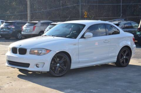 2012 BMW 1 Series for sale at Marietta Auto Mall Center in Marietta GA
