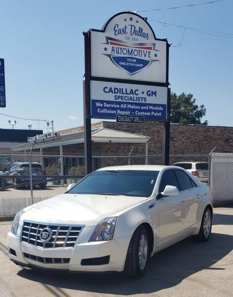 2008 Cadillac CTS for sale at East Dallas Automotive in Dallas TX