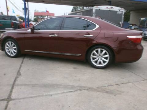 2007 Lexus LS 460 for sale at Under Priced Auto Sales in Houston TX