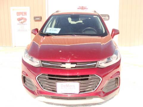 2017 Chevrolet Trax for sale at DeMers Auto Sales in Winner SD
