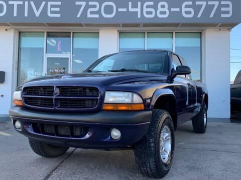 1999 Dodge Dakota for sale at Shift Automotive in Denver CO