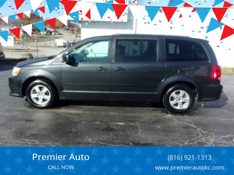 2011 Dodge Grand Caravan for sale at Premier Auto in Independence MO