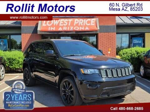 2018 Jeep Grand Cherokee for sale at Rollit Motors in Mesa AZ