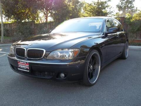 2006 BMW 7 Series for sale at Top Notch Auto Sales in San Jose CA