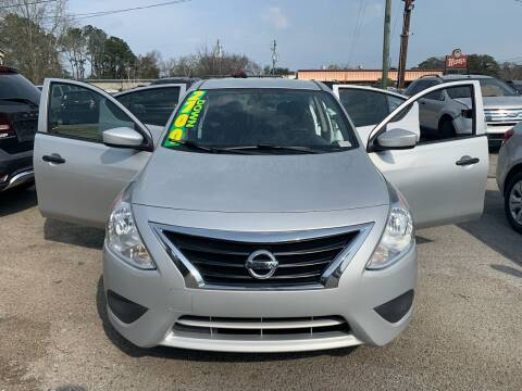 2016 Nissan Versa for sale at Auto Mart in North Charleston SC