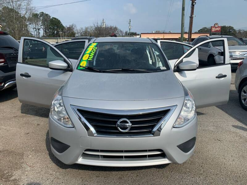 2016 Nissan Versa for sale at Auto Mart in North Charleston SC