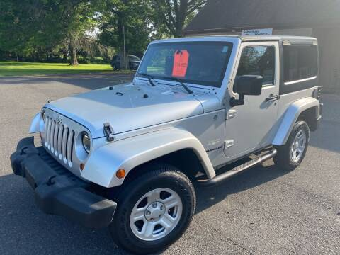 2007 Jeep Wrangler for sale at Suburban Wrench in Pennington NJ