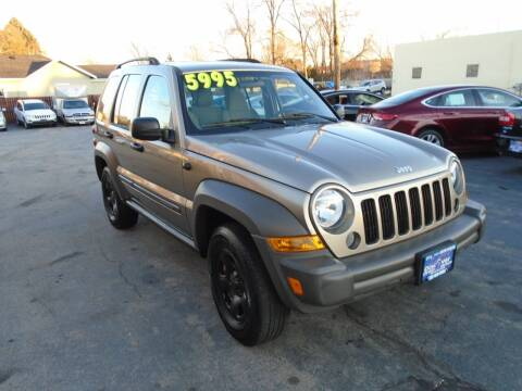 2007 Jeep Liberty for sale at DISCOVER AUTO SALES in Racine WI