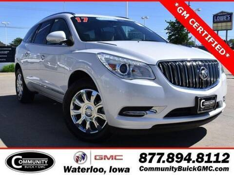 2017 Buick Enclave for sale at Community Buick GMC in Waterloo IA