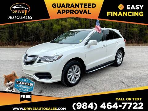 2017 Acura RDX for sale at Drive 1 Auto Sales in Wake Forest NC