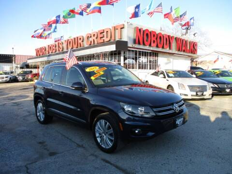 2015 Volkswagen Tiguan for sale at Giant Auto Mart 2 in Houston TX