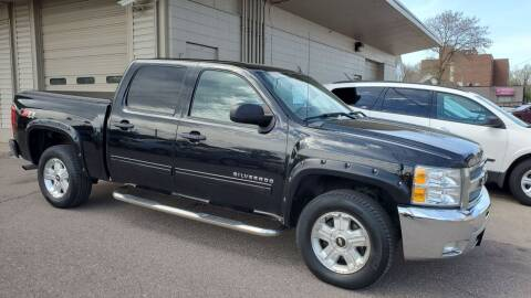 2012 Chevrolet Silverado 1500 for sale at North Metro Auto Sales in Cambridge MN