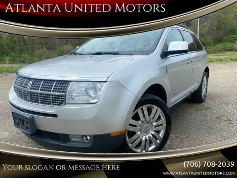 2010 Lincoln MKX for sale at Atlanta United Motors in Jefferson GA