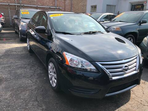 2014 Nissan Sentra for sale at Jeff Auto Sales INC in Chicago IL