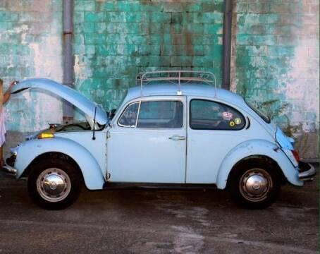 1972 Volkswagen Super Beetle for sale at Haggle Me Classics in Hobart IN