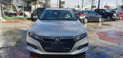 2018 Honda Accord for sale at Auto Land in Ontario CA
