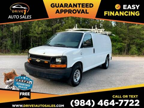 2011 Chevrolet Express Cargo for sale at Drive 1 Auto Sales in Wake Forest NC