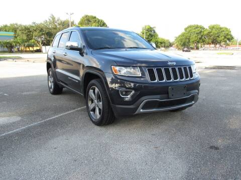 2014 Jeep Grand Cherokee for sale at United Auto Center in Davie FL