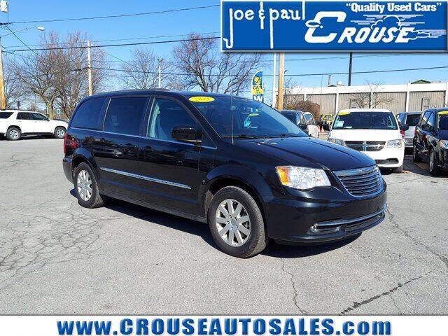 2013 Chrysler Town and Country for sale at Joe and Paul Crouse Inc. in Columbia PA