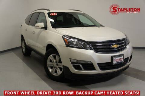 2014 Chevrolet Traverse for sale at STAPLETON MOTORS in Commerce City CO