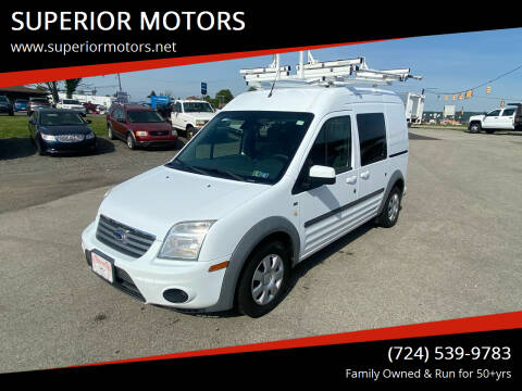 2013 Ford Transit Connect for sale at SUPERIOR MOTORS in Latrobe PA