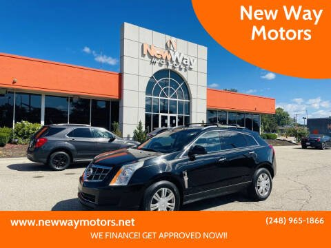 2011 Cadillac SRX for sale at New Way Motors in Ferndale MI