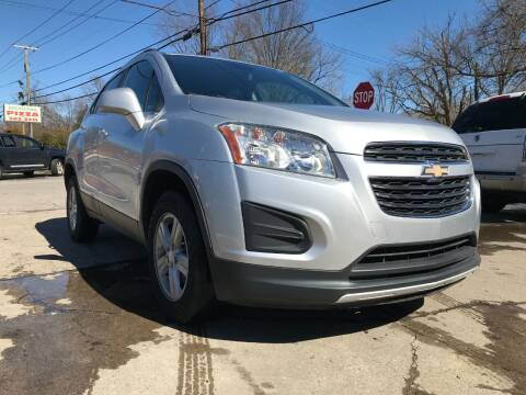 2016 Chevrolet Trax for sale at King Louis Auto Sales in Louisville KY