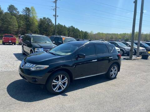 2009 Nissan Murano for sale at Billy Ballew Motorsports in Dawsonville GA