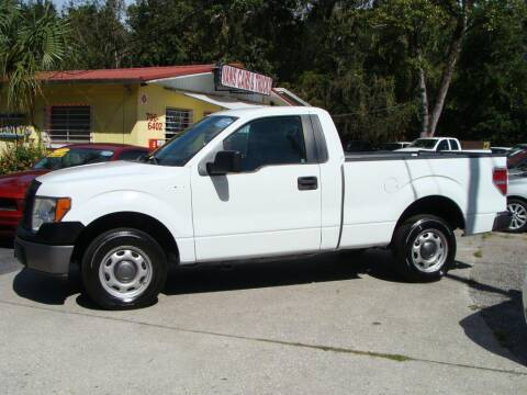 2012 Ford F-150 for sale at VANS CARS AND TRUCKS in Brooksville FL