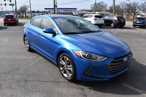 2017 Hyundai Elantra for sale at World Class Motors in Rockford IL