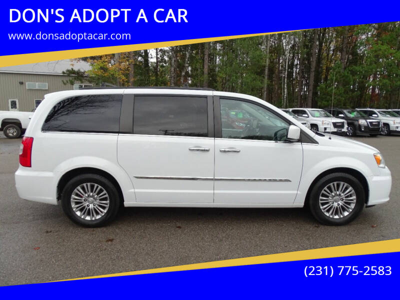 2015 Chrysler Town and Country for sale at DON'S ADOPT A CAR in Cadillac MI