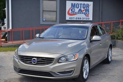 2014 Volvo S60 for sale at Motor Car Concepts II - Kirkman Location in Orlando FL