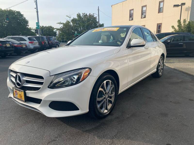 2015 Mercedes-Benz C-Class for sale at ADAM AUTO AGENCY in Rensselaer NY