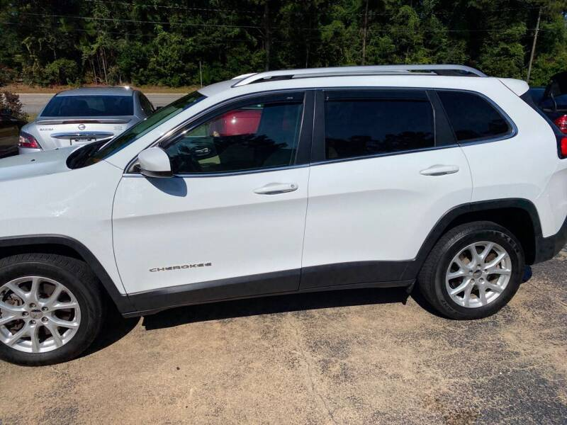 2015 Jeep Cherokee for sale at TOP OF THE LINE AUTO SALES in Fayetteville NC