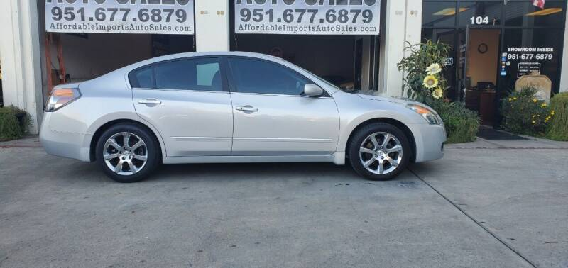 2009 Nissan Altima for sale at Affordable Imports Auto Sales in Murrieta CA