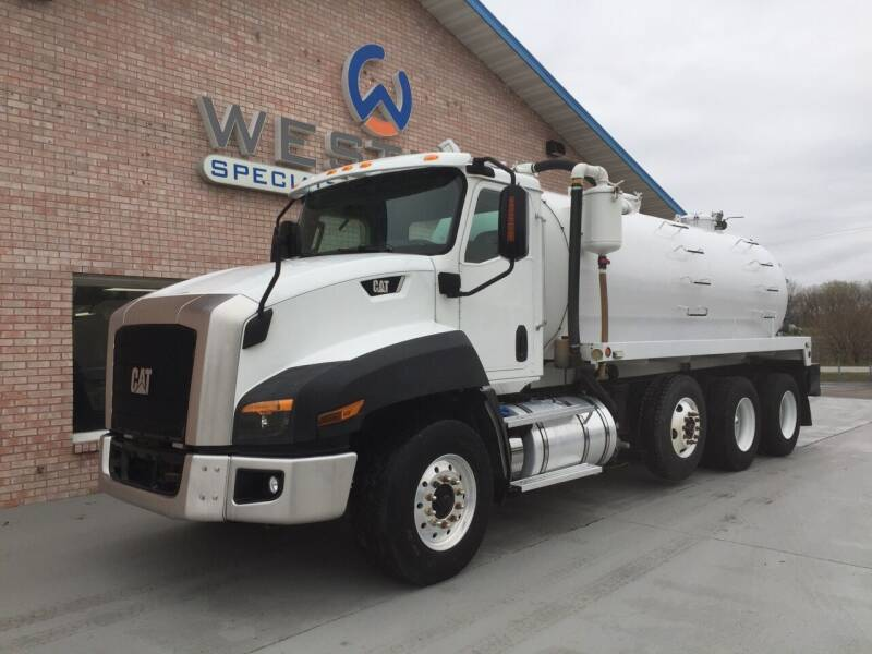 2015 Caterpillar CT660 Vac Truck for sale at Western Specialty Vehicle Sales in Braidwood IL