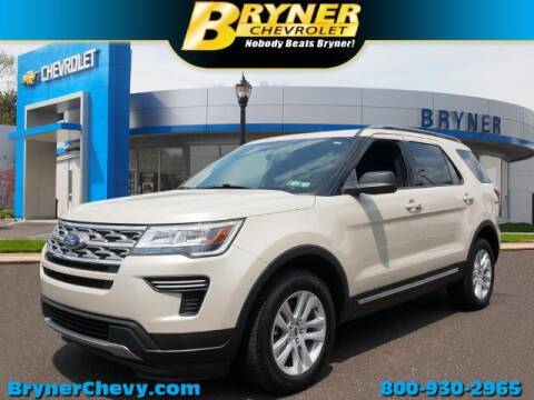 2018 Ford Explorer for sale at BRYNER CHEVROLET in Jenkintown PA