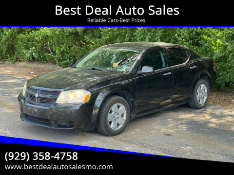 2010 Dodge Avenger for sale at Best Deal Auto Sales in Saint Charles MO